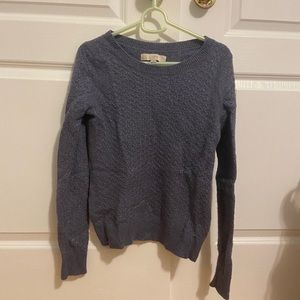Silver detail sweater